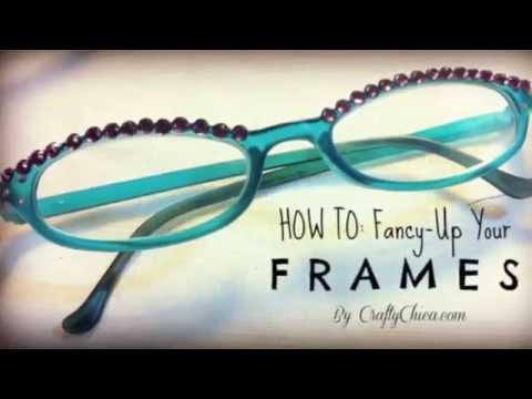 DIY Crystal Glasses    Decorate Your Eyewear
