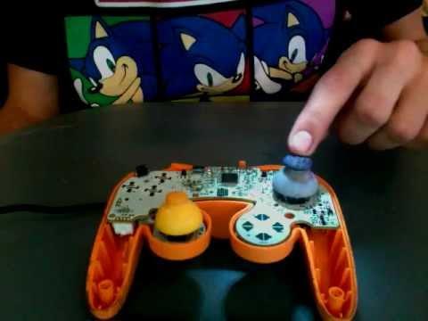 how to fix gamecube controller joystick easy