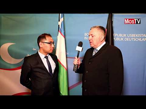 ITB 2018 Berlin Интервью с заместителем председателя государственного комитета республики Узбекистан