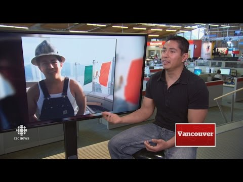 CBC News speaks to construction worker who flew Mexican flag from roof of Trump Tower in Vancouver