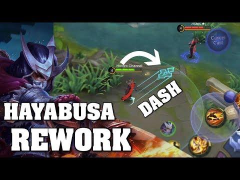 HAYABUSA REWORK NEW SKILLS NEW LIFE