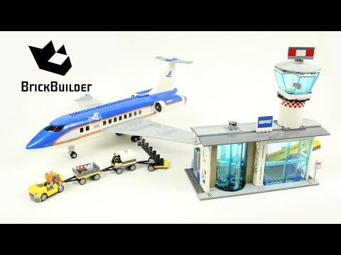 Lego City 60104 Airport Passenger Terminal - Lego Speed Build