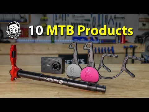 10 MTB Product Reviews from Helmet Hooks to Multi Tools