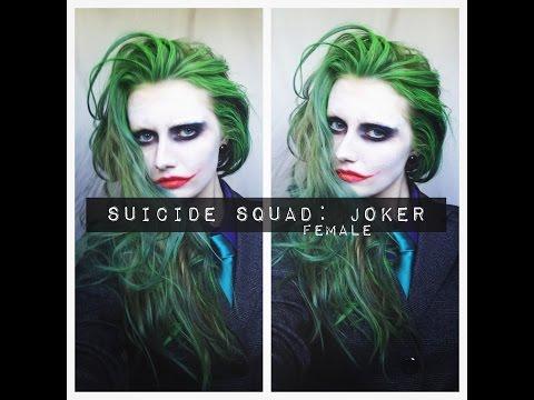 SUICIDE SQUAD/JOKER MAKEUP & HAIR (female)