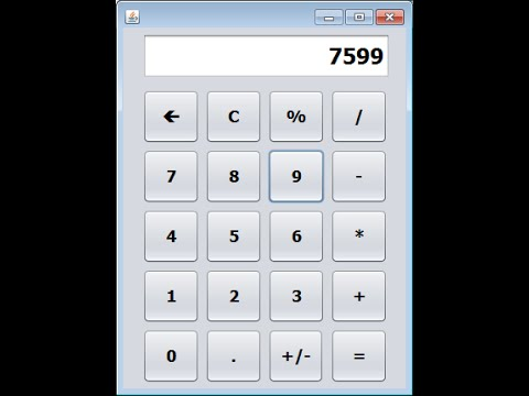 How to Create a Calculator in Java NetBeans