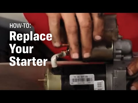 How To Replace Your Starter - AutoZone Car Care