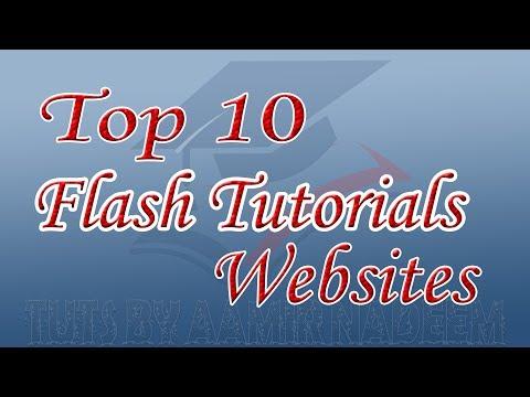 Top 10 Best Flash Tutorials Websites Tuts by Aamir Nadeem