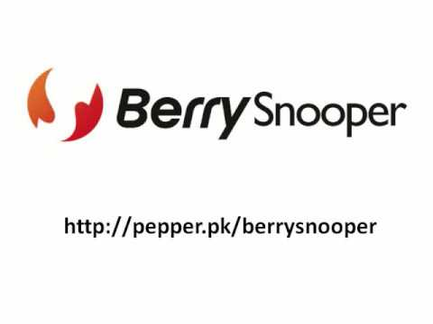 BerrySnooper - Track your lost or stolen BlackBerry phone