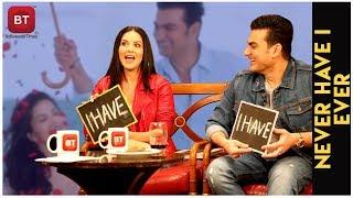 Sunny Leone & Arbaaz Khan Reveal Fascinating Secrets   Never Have I Ever