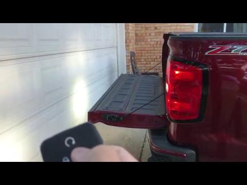 2017 Silverado Tailgate Remote Release