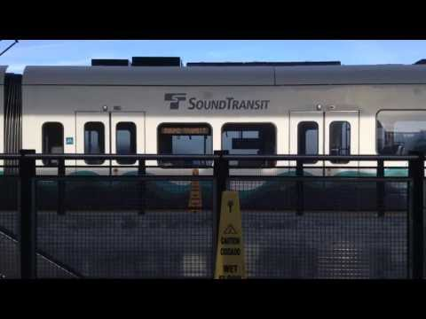 Seattle Light Rail Sea-Tac Airport  6/28/13