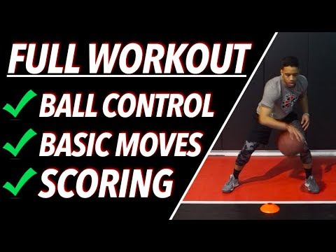How To: Improve Your Handles | Full Ball Handling & Dribbling Workout | Pro Training Basketball