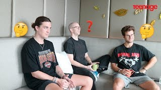 LANY Describes The First Time They Met Each Other