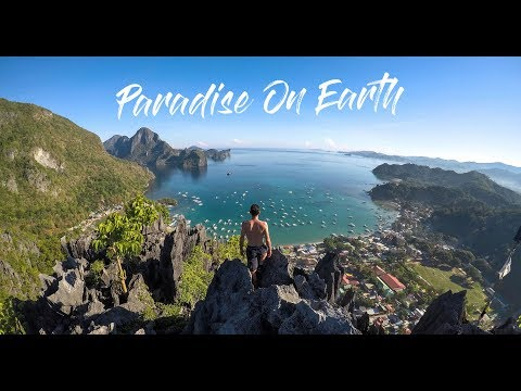 MOST BEAUTIFUL PLACE in the WORLD - Palawan Islands Philippines in 4K