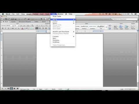 How to Compare Two Things Using Columns on Microsoft Word : Microsoft Word Help
