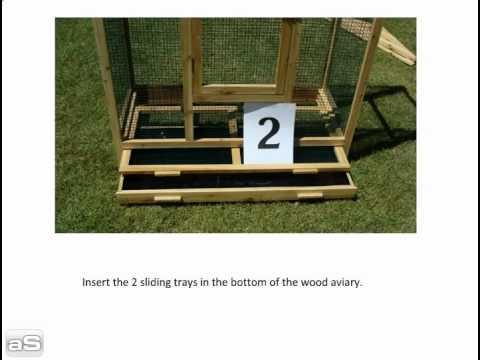 doc woody's wood aviary instructions