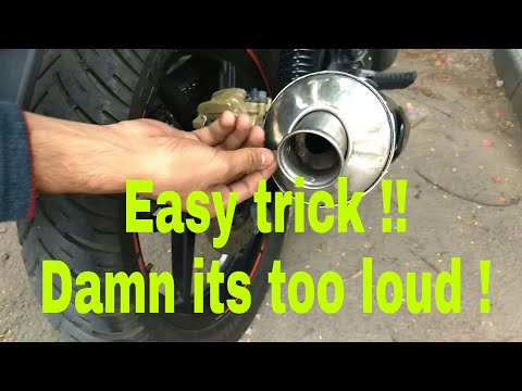 How to increase the exhaust sound without any modification | heavy exhaust note