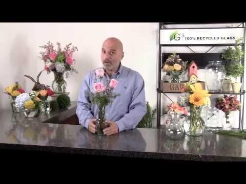 Bud Vase Floral Arrangement