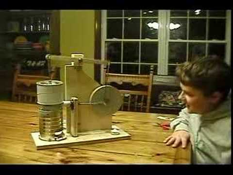 hot air engine science project
