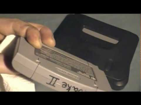 How to remove permanent marker from a N64 cartridge
