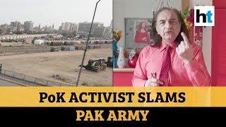 'Pakistan army sending COVID-19 patients to PoK': Activist Amjad Mirza