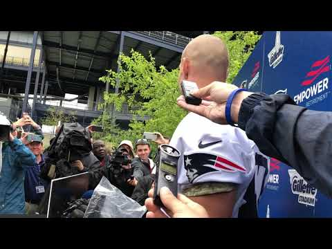 Gronk on returning to practice
