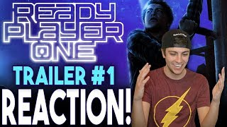 READY PLAYER ONE Official Trailer #1 Reaction!