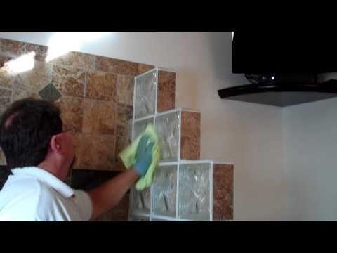 Sealing Glass Shower Doors & Glass Blocks By Granite Shield