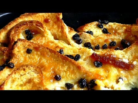 Christmas dessert Bread Butter Pudding simple recipe How to Make