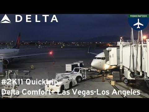 #2K11 Quicktrip - Delta Comfort+ from Las Vegas to Los Angeles (DL1333, LAS-LAX)