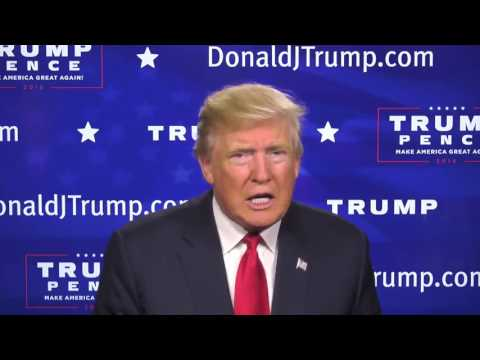 Donald Trump GOP Weekly Address  Time To Close the History