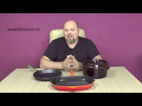 Natural vs enamelled cast iron cookware
