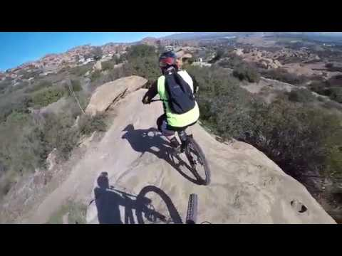 Downhill MTB - Drops, jumps, berms.