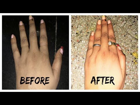 How to Get Smooth Fairer Hands Naturally in 15 Minutes  |  BeautifulYou