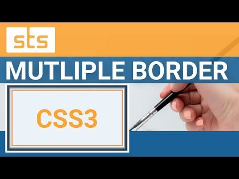 CSS Multiple Border  - Creating CSS3 Custom Borders | Smashtheshell | Youtube