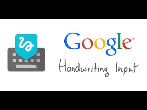 Google Handwriting Input (Keyboard)