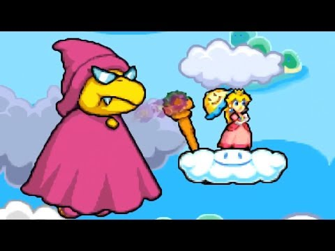 Super Princess Peach - Walkthrough Part 15 - World 7 Giddy Sky 7-7,7-8 & 7-9