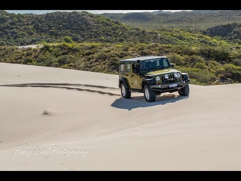 Jeep Wrangler JK 4x4, Off roading sand dunes Wilbinga