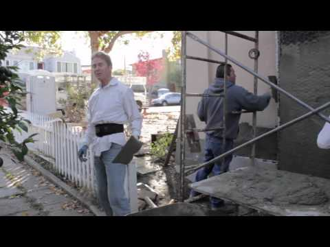 How To clean stucco cement  mortar plaster off a shovel quickly