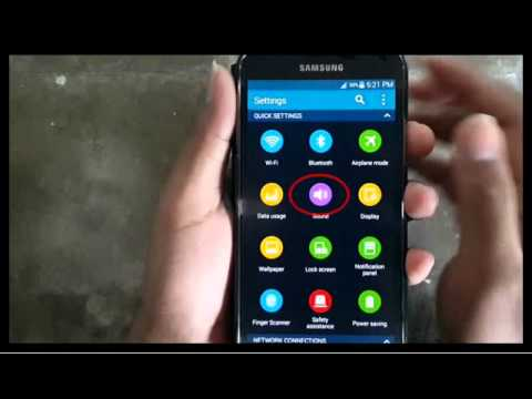 Samsung Galaxy S5 : How to Change Notification Sound (Android Phone)