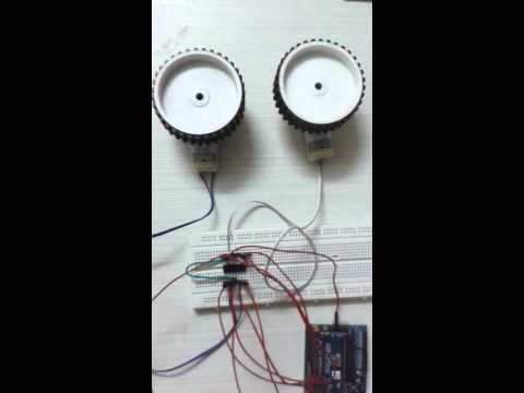 DC Motor interfacing with AVR Board