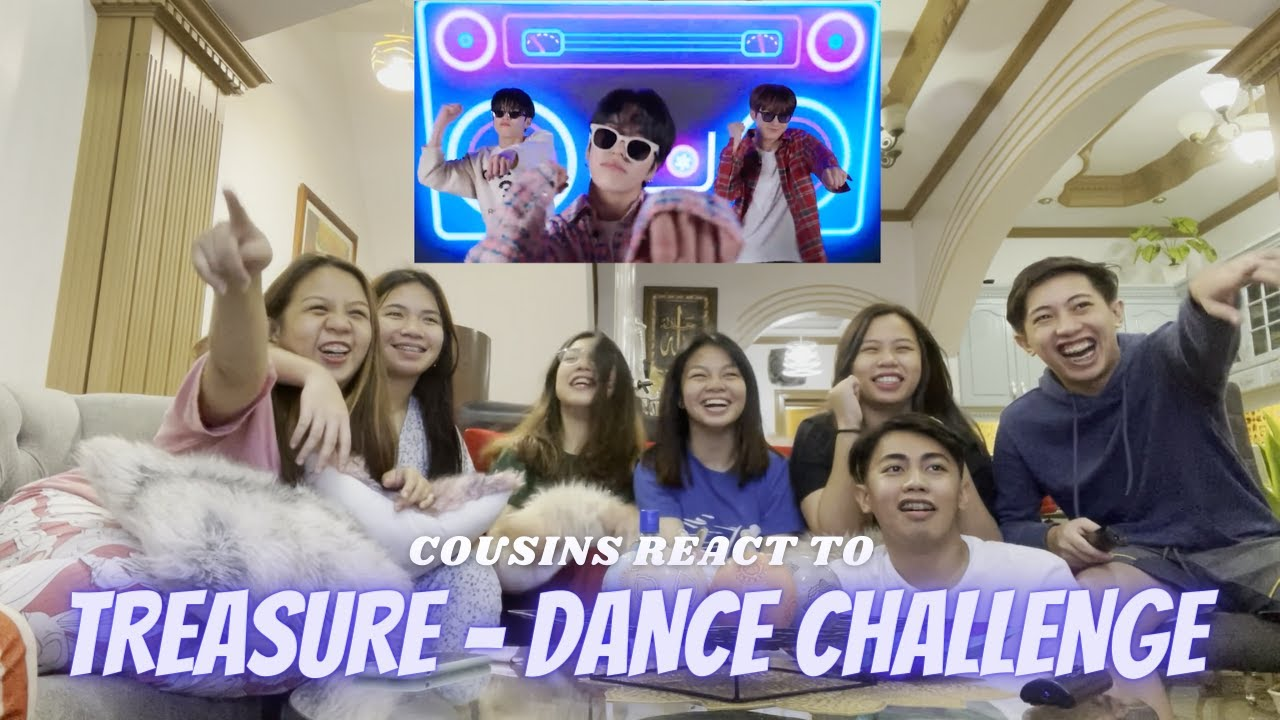 COUSINS REACT TO TREASURE - 2020 DANCE CHALLENGE HITS COMPILATION