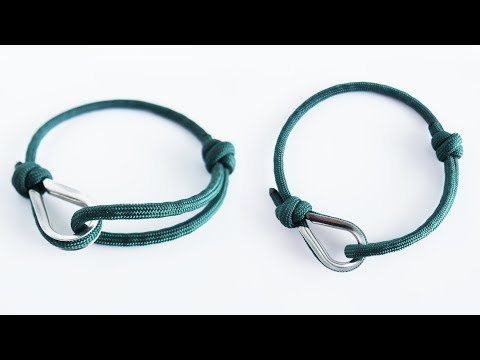 How to Make an Adjustable Paracord Bracelet with Rope Thimble Tutorial
