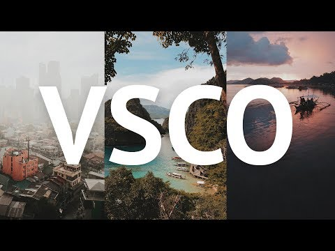 Why I Shoot JPEG + VSCO Editing - A Photography Tutorial