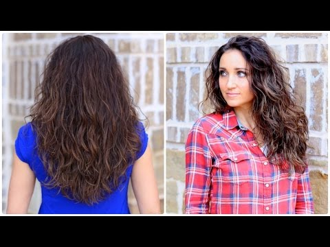 How to Get Diffused Curls | Curly Hairstyles
