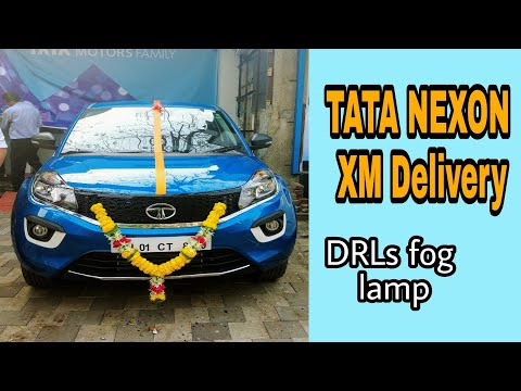 MY TATA NEXON delivery....... Awesome car