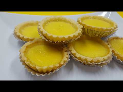 Simple Egg Tarts ● Homemade Recipe [Simple & Easy]