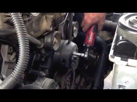 Water pump or Fan clutch on the ford 6.0 Powerstroke diesel (Bulletproof used)