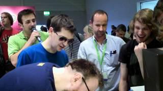 Simon Lane  Honeydew  Lewis Brindley  Xephos From The Yogscast At Gamescom Pt2