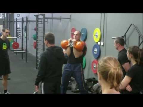 Iron Edge Kettlebell Training Camp 2012